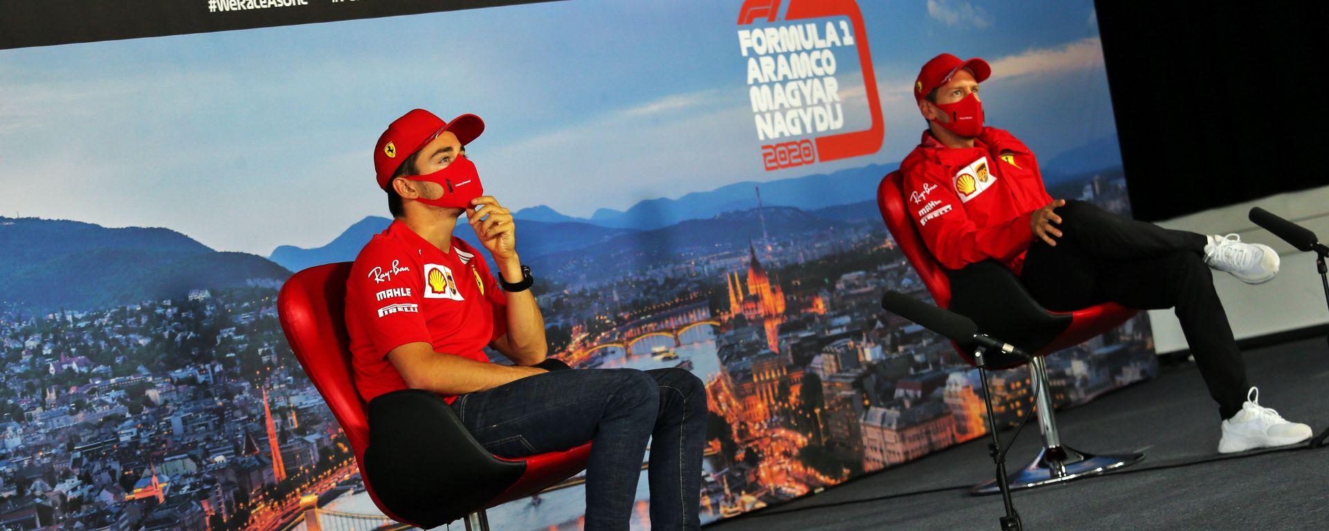 Ferrari: i piloti archiviano l'incidente in Austria senza polemiche