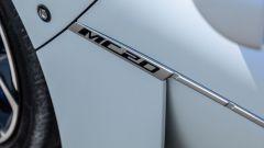 L'effige laterale della Maserati MC20