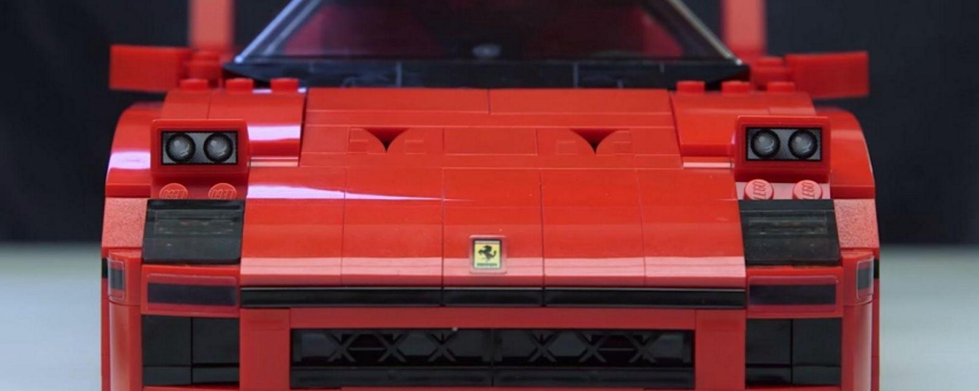 Mattoncini ruggenti: la Ferrari F40 di Lego