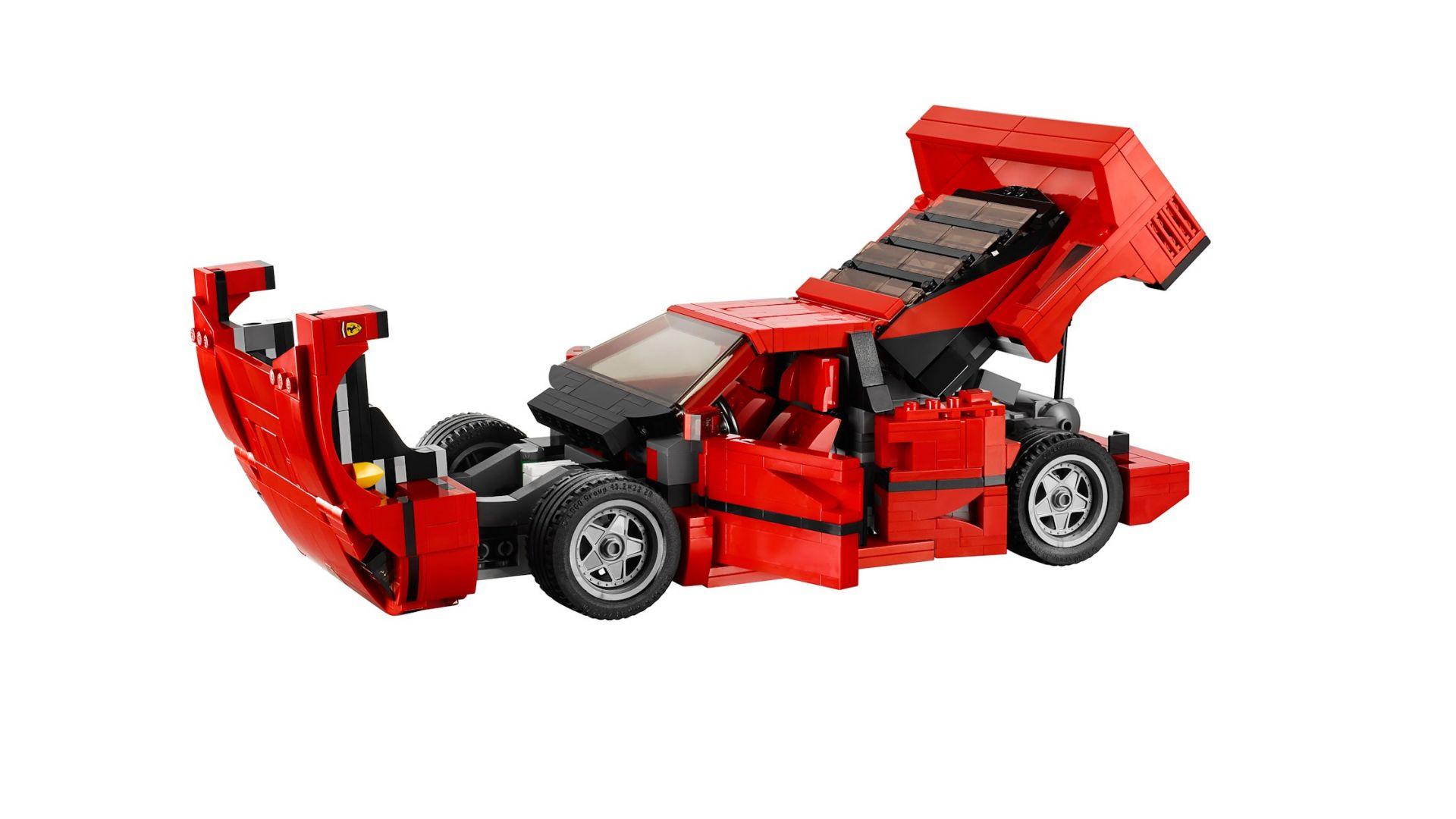 Curiosit 224 Mattoncini Ruggenti La Ferrari F40 Di Lego