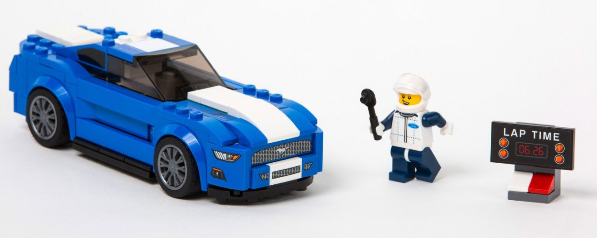LEGO Ford Mustang e Ford F-Raptor