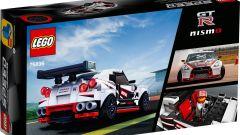 LEGO Nissan GT-R Nismo: retro della confezione