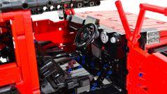 LEGO Suzuki Jimny: dettaglio interni