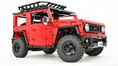 LEGO Suzuki Jimny: vista 3/4 anteriore