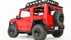 LEGO Suzuki Jimny: vista 3/4 posteriore