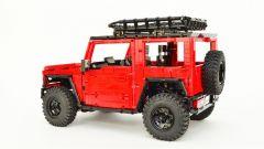 LEGO Suzuki Jimny: vista laterale
