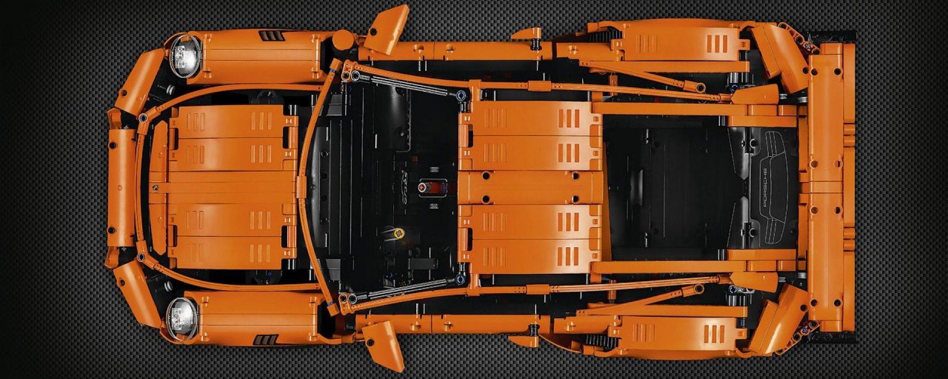 Lego Technic: arriva la Porsche 911 GT3 RS