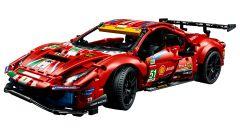 LEGO Technic Ferrari 488 GTE: il video