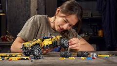 Lego Technic Jeep Wrangler Rubicon è un kit da 665 pezzi