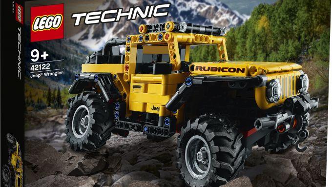 Lego Technic Jeep Wrangler Rubicon, la scatola di montaggio