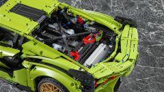 Lego Technic Lamborghini Sián FKP 37: dettagli del motore