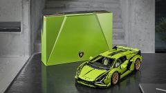 Lego Technic Lamborghini Sián FKP 37 e la scatola