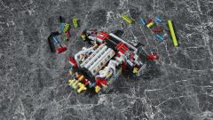 Lego Technic Lamborghini Sián FKP 37: il motore