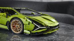 Lego Technic Lamborghini Sián FKP 37: il muso
