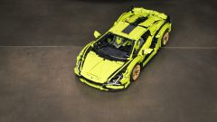 Lego Technic Lamborghini Sián FKP 37: sono 3.696 i pezzi