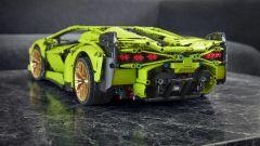 Lego Technic Lamborghini Sián FKP 37: vista del posteriore