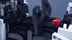 LEGO Tesla Cybertruck: gli interni
