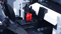 LEGO Tesla Cybertruck: la plancia