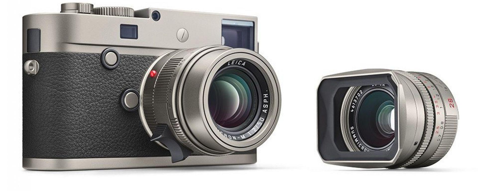 Leica M-P (Typ 240) Titanium: la compatta da 23 mila dollari