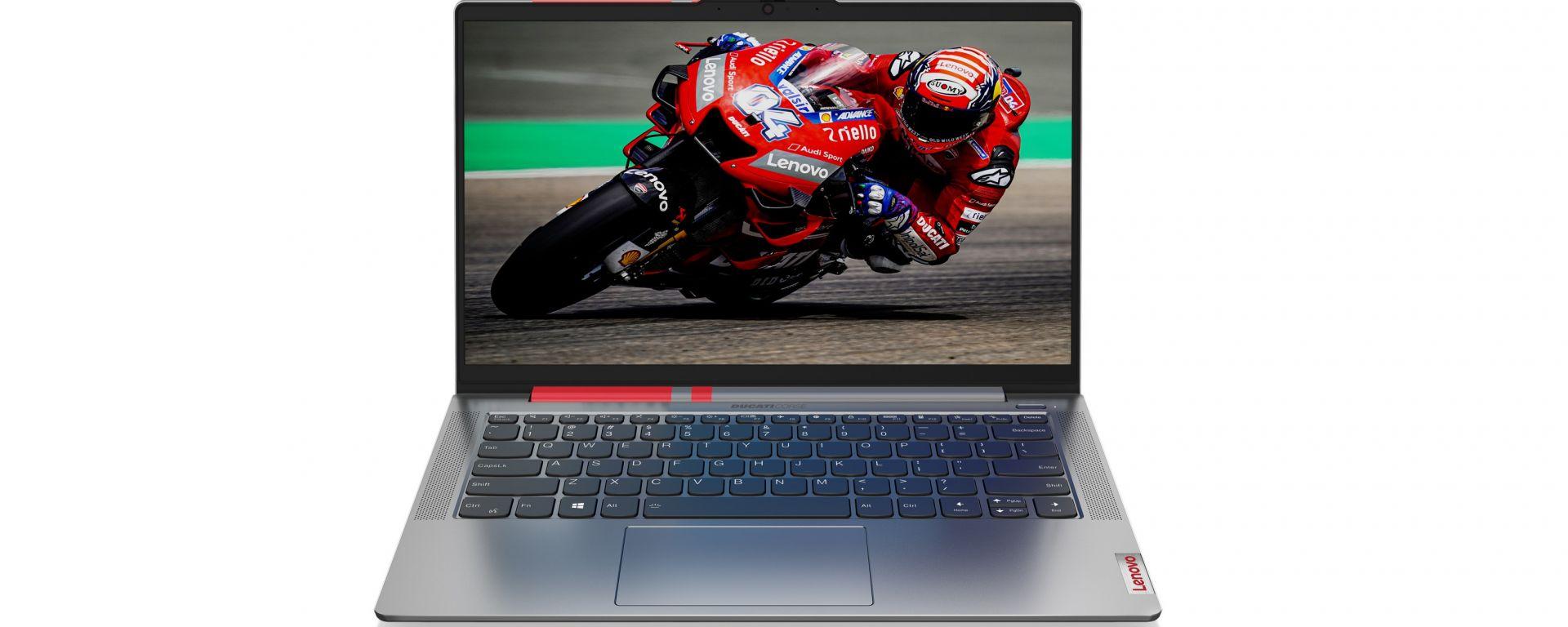 Lenovo Ducati 5: il PC firmato da Borgo Panigale