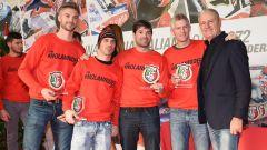 Leon Camier, Marco Melandri, Carlos e David Checa