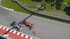 L'episodio che ha sconquassato il motorsport nelle ultime settimane: Vettel vs Hamilton in Canada
