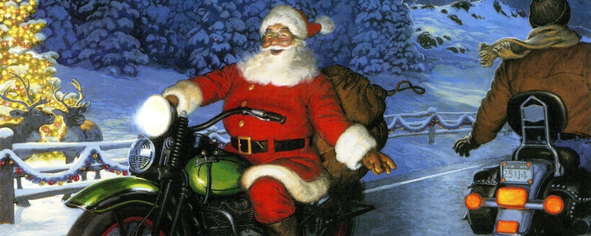 Lettera di un motociclista a Babbo Natale