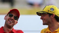 Quella lettera scritta da Vettel a Sainz