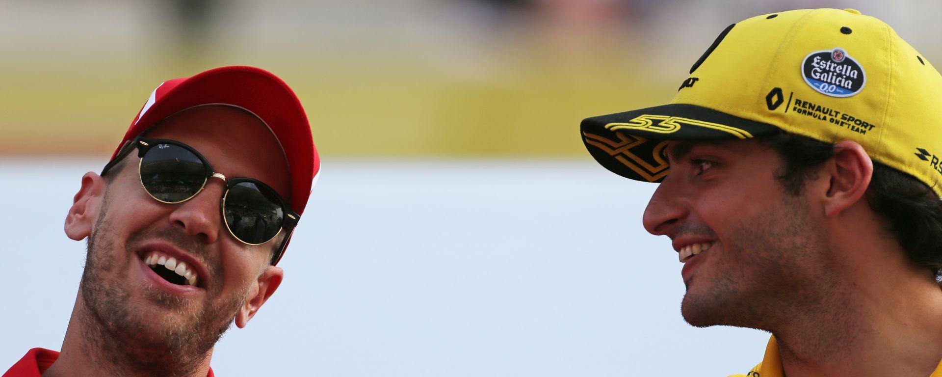 Sainz svela il suo particolare legame con Vettel
