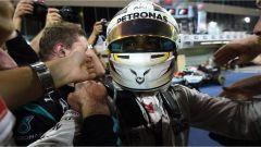 Lewis Hamilton alla fine della gara di Abu Dhabi