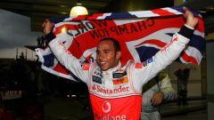 Lewis Hamilton Campione del Mondo 2008