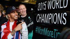 Lewis Hamilton Campione del Mondo 2015
