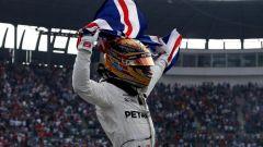 Lewis Hamilton Campione del Mondo 2017 in Messico