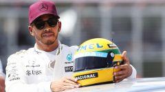 Lewis Hamilton come Senna