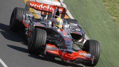 Lewis Hamilton con la McLaren del 2008