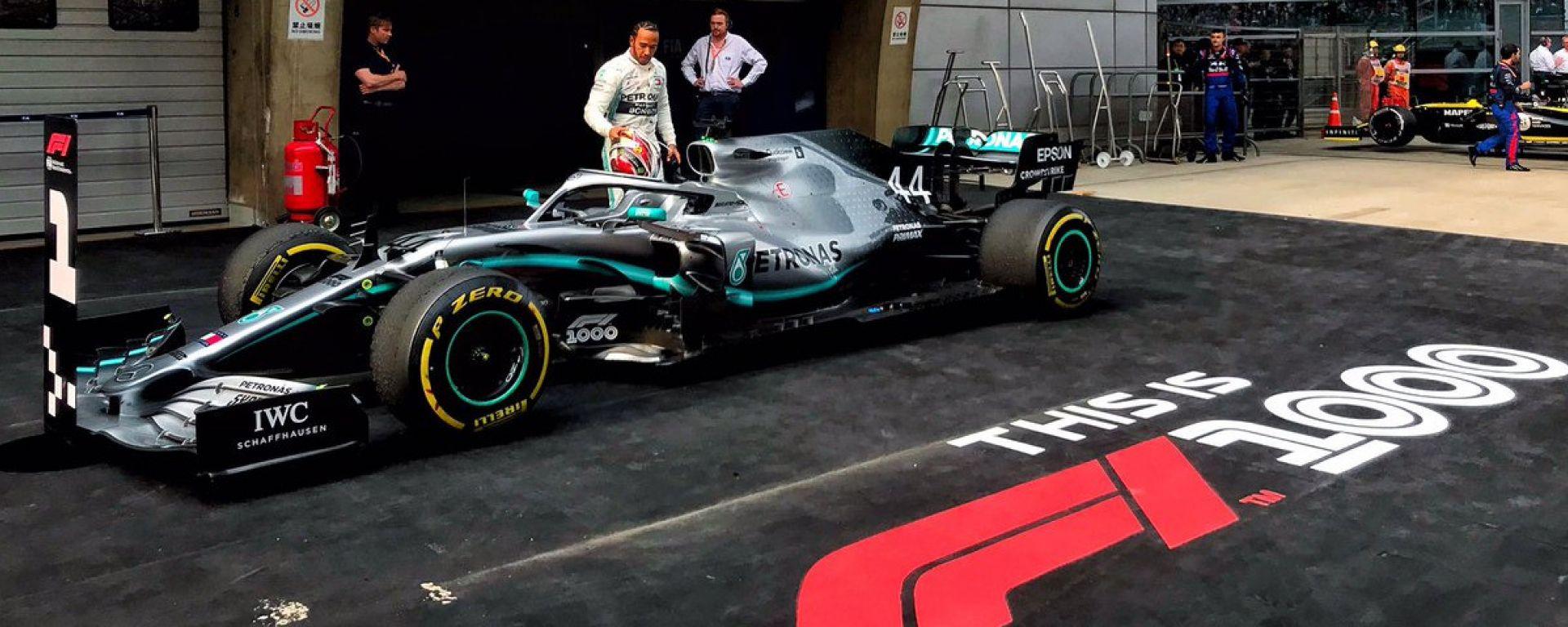 Lewis Hamilton è il vincitore del Gran Premio di Cina 2019