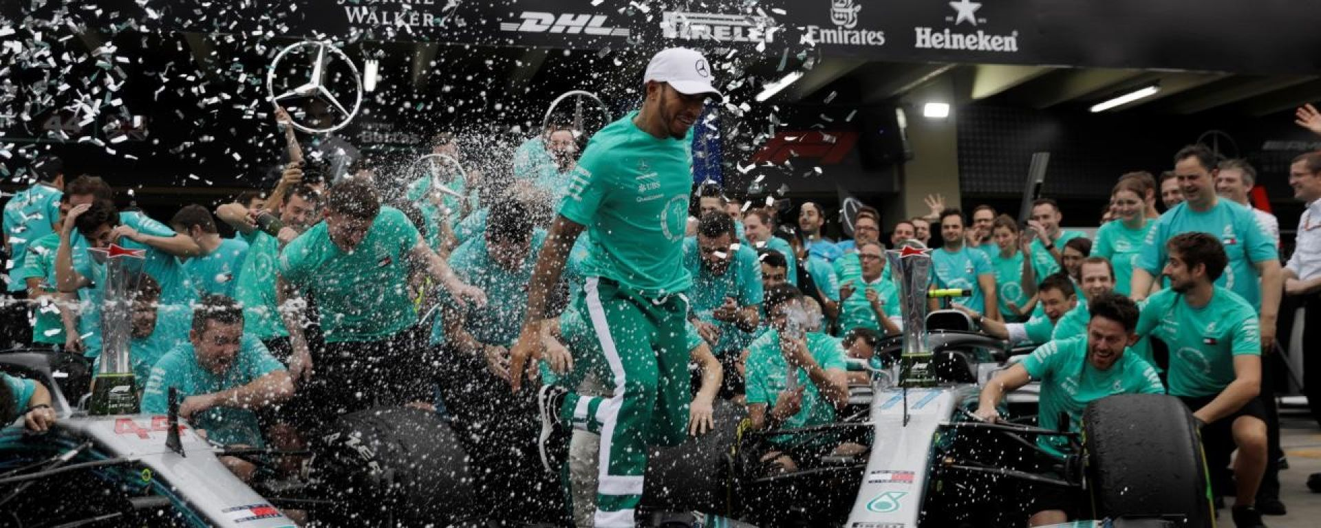 Lewis Hamilton e la Mercedes candidati ai Laureus 2019