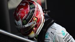 Lewis Hamilton in Spagna