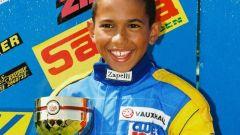 Lewis Hamilton - kart 1996