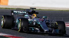 Lewis Hamilton - la riscossa con la W08 EQ Power+ per la stagione 2017