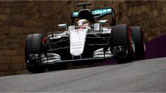 Lewis Hamilton - Mercedes Baku Circuit