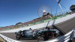 Lewis Hamilton (Mercedes) è leader della classifica piloti F1 dopo il Gp del Giappone 2019