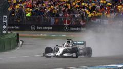Lewis Hamilton (Mercedes) è leader della classifica piloti F1 dopo il Gp di Germania 2019