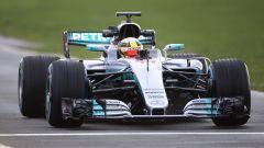 Lewis Hamilton Mercedes W08 EQ Power+