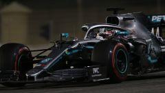 Lewis Hamilton nel corso del Gp Bahrain 2019