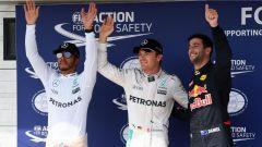 F1 GP Ungheria: Rosberg conquista la pole ma potrebbe retrocedere