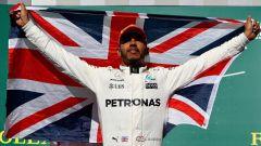 Lewis Hamilton quattro volte Campione del Mondo