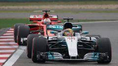 Lewis Hamilton vs Sebastian Vettel