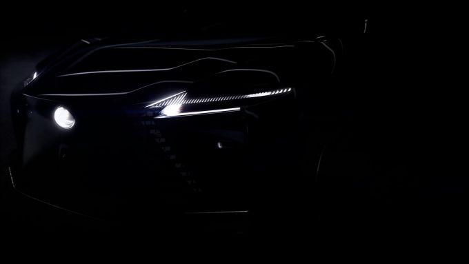Lexus concept BEV: frontale