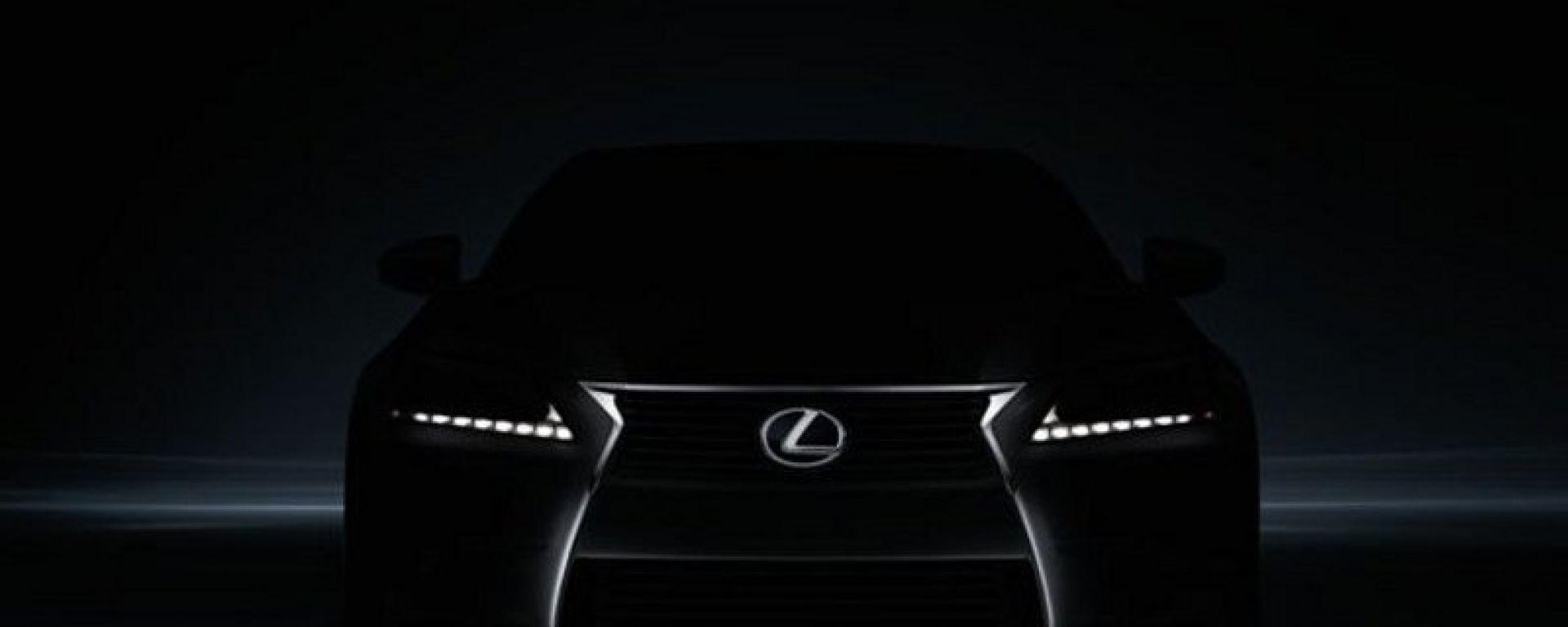 Lexus GS 2012: la prima foto ufficiale